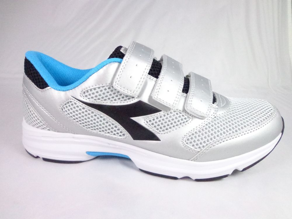 435438ea NWOB Diadora Shape 7 running walking shoes white silver black Size ...