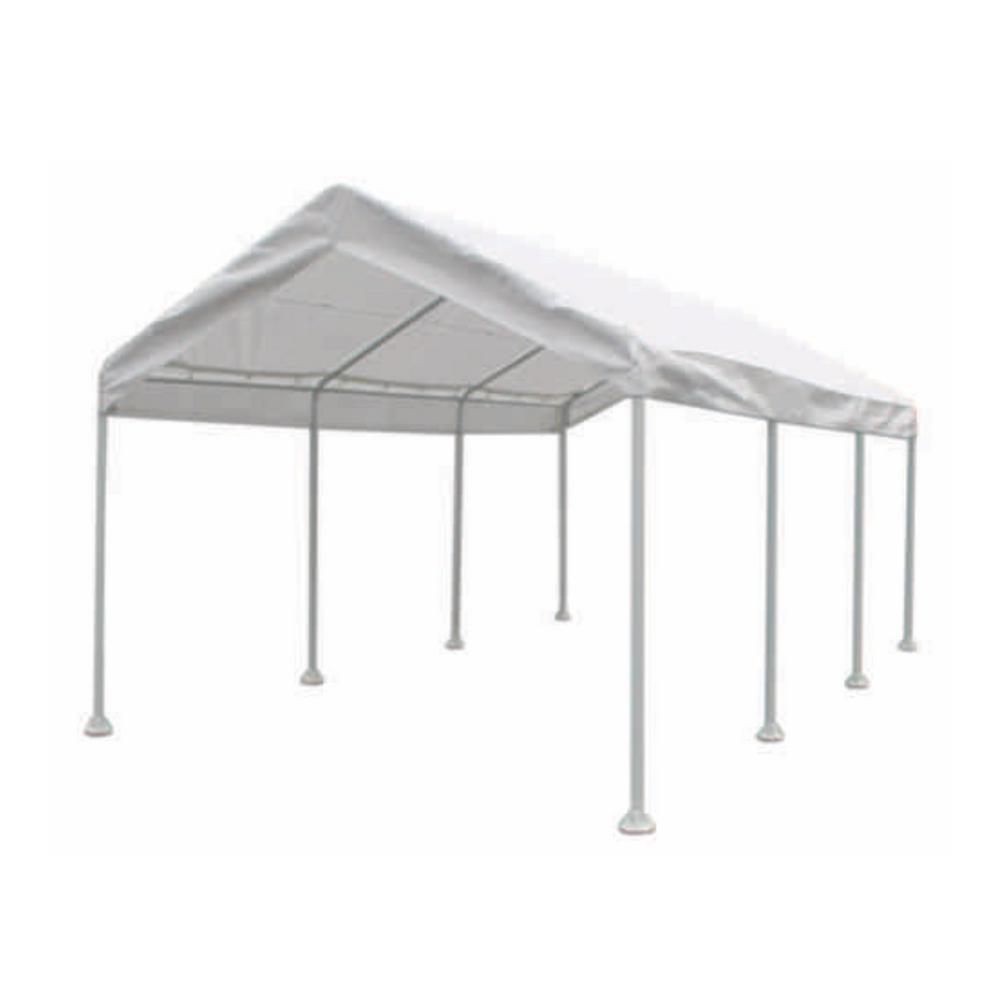 Moto Shade 10 Ft X 20 Ft Multi Purpose Canopy 163627 The Home Depot Portable Gazebo Canopy Outside Room