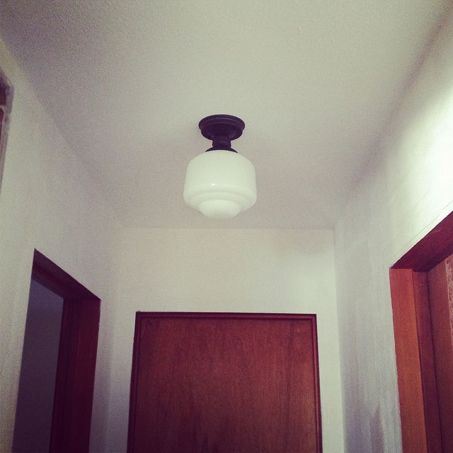 New Schoolhouse Light From Home Depot Where There S Love