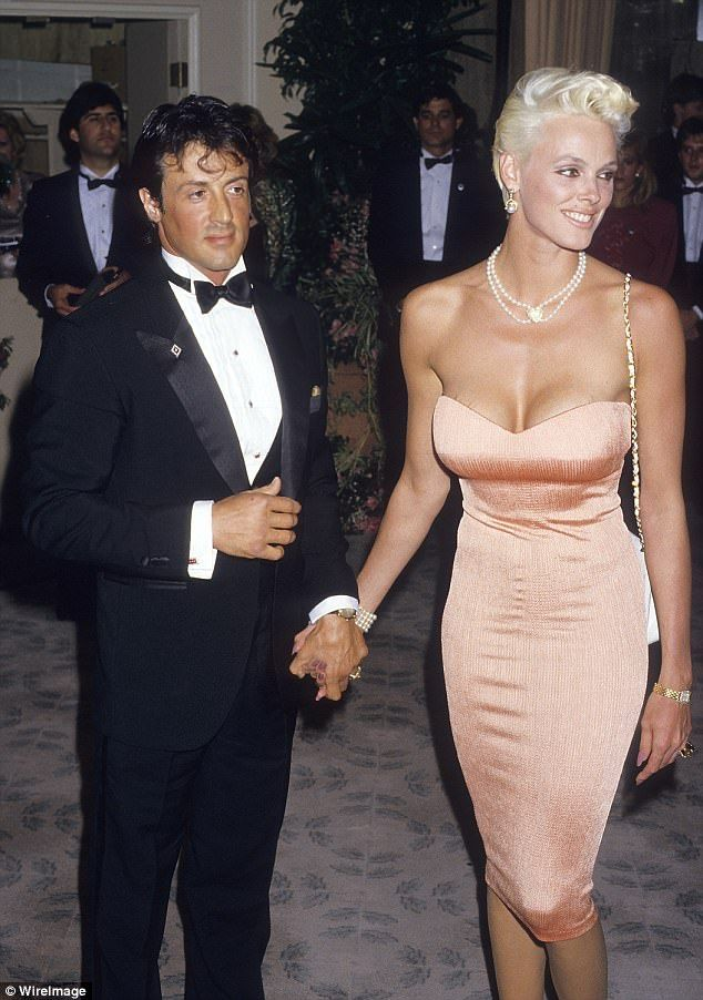Sylvester Stallone's ex-wife denies he sexually as