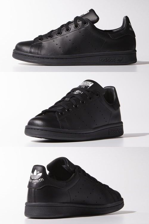 3f7d34b8b5 Adidas - Stan Smith black white Tênis Feminino