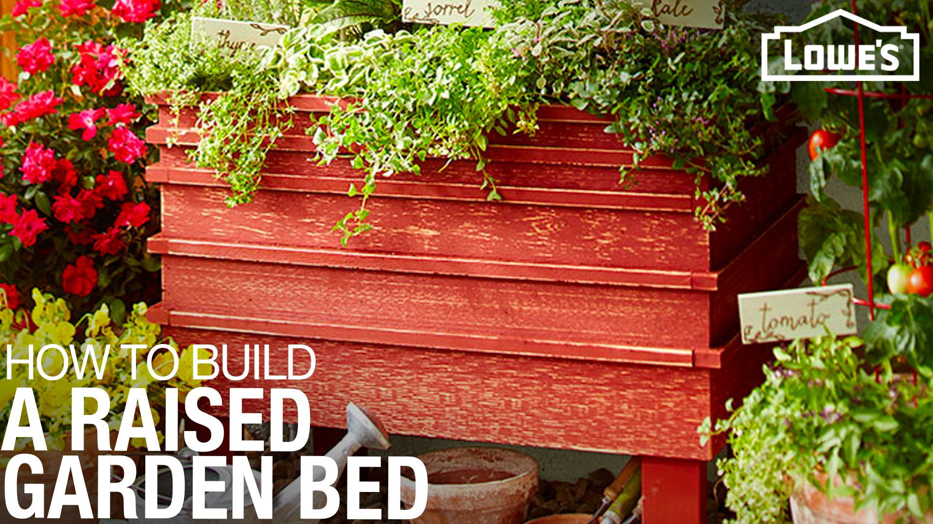 Elevated Planter Planters, Building a raised garden