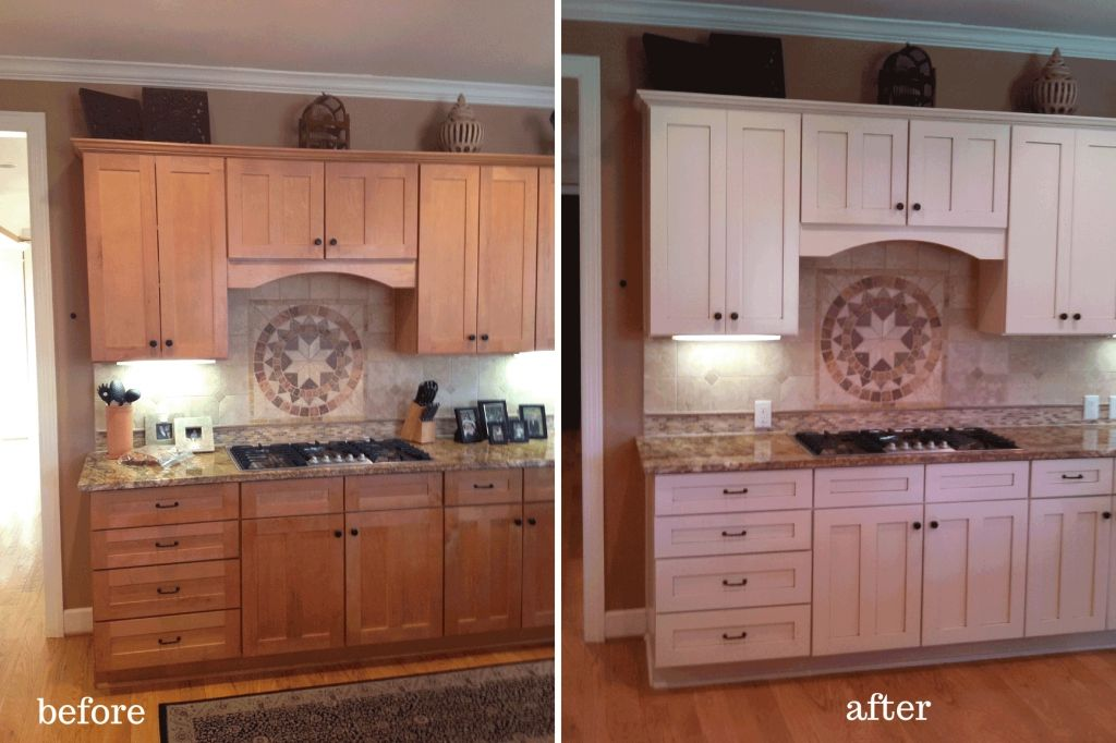 paint kitchen cabinets before and after best paint for interior kitchen cabinets before on kitchen cabinets painted before and after id=25671