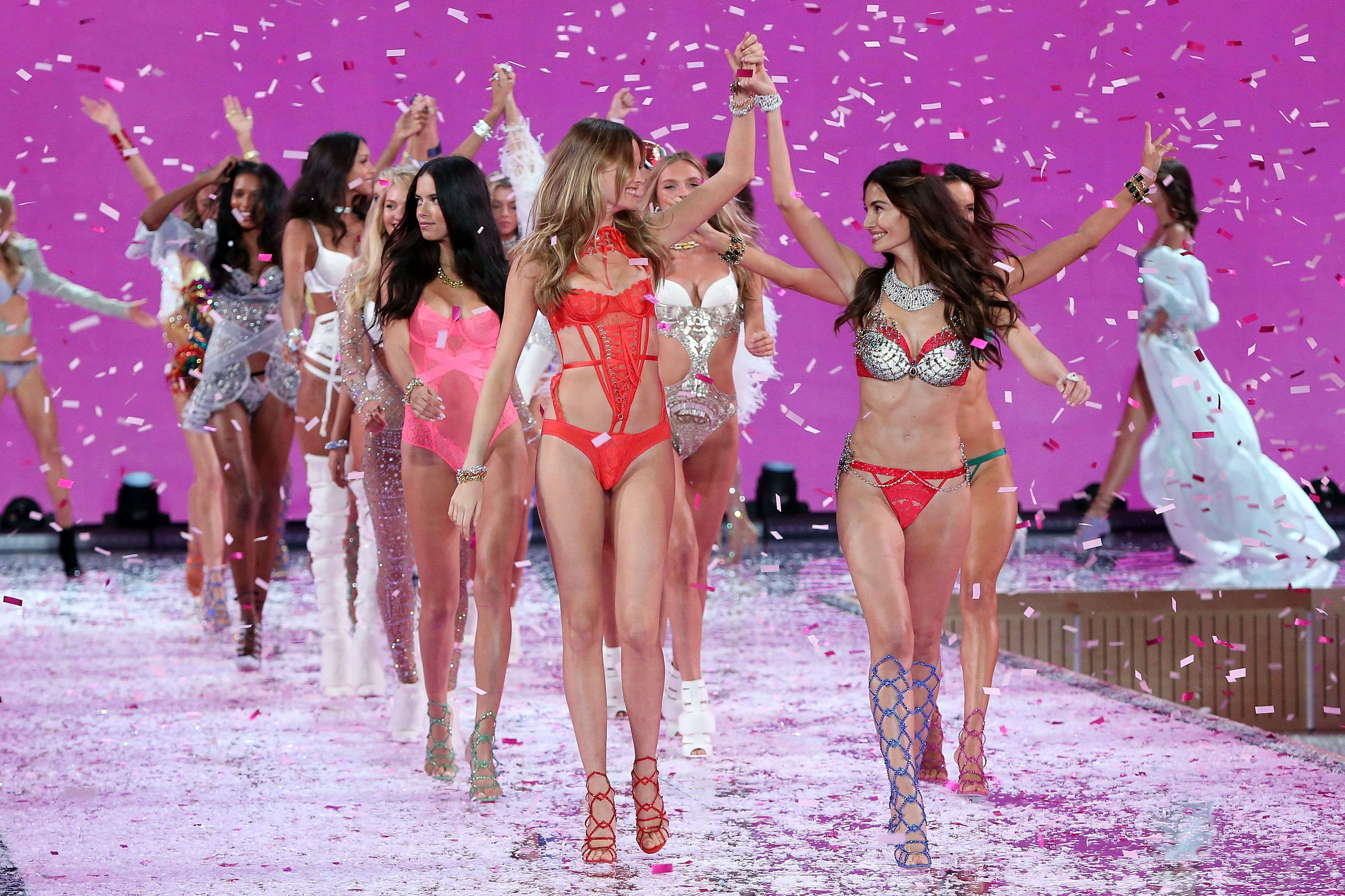 The Victoria's Secret Angels Tell What It Was Like to Buy Their First - We asked some of the Victoria's Secret Angels—Sara Sampaio, Adriana Lima, Taylor Hill—if they remembered buying their first bra.