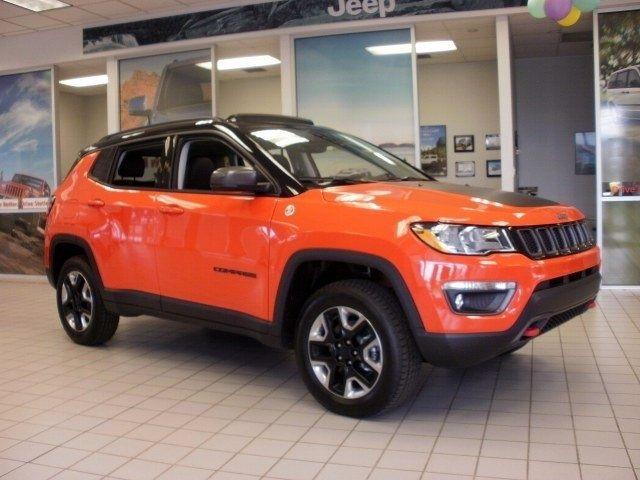 New 2017 Jeep New Compass Trailhawk For Sale In York Pa