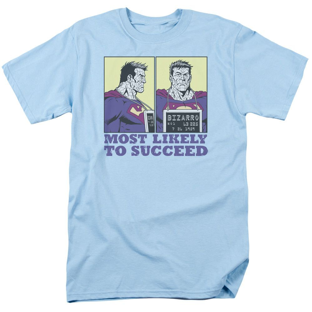 Superman Most Likely Light Blue T-Shirt