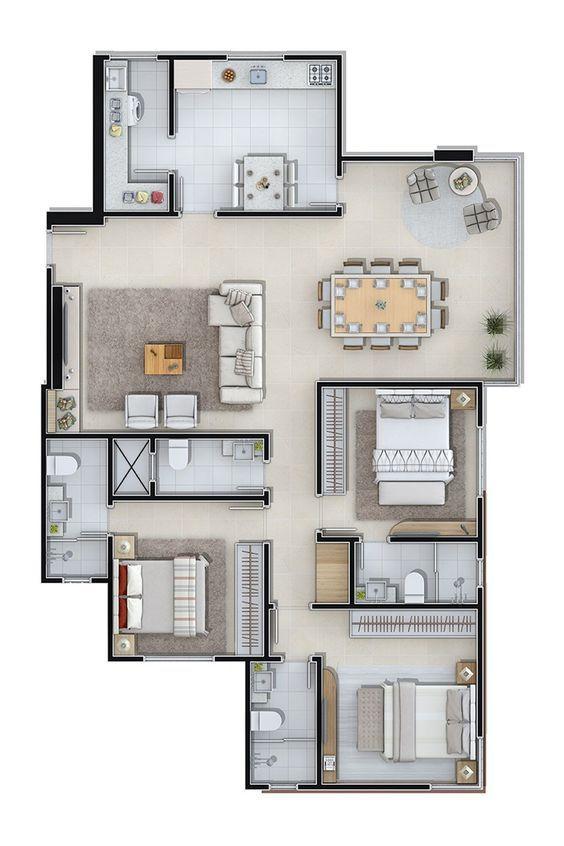 Pin de Cons en mi casa Pinterest De todo, Planos y Casas