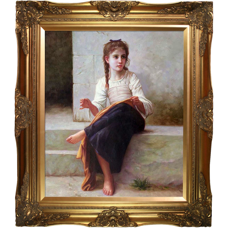 La Pastiche William-Adolphe Bouguereau \'The Dressmaker 1898\' Hand ...