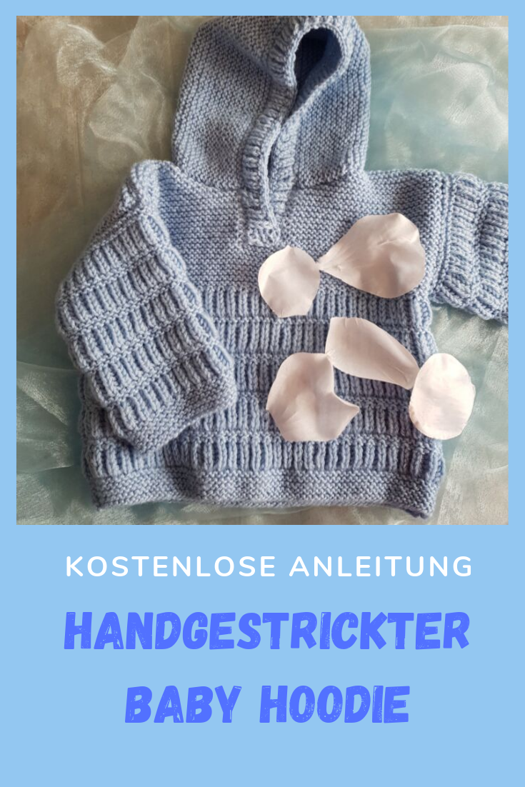 Photo of Einen süßen Baby Hoodie stricken – so geht es!