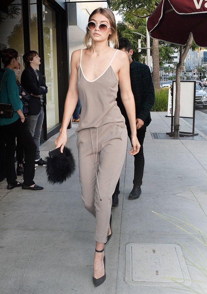 Gigi Hadid Schools Us In The Art Of Monochromatic Dressing