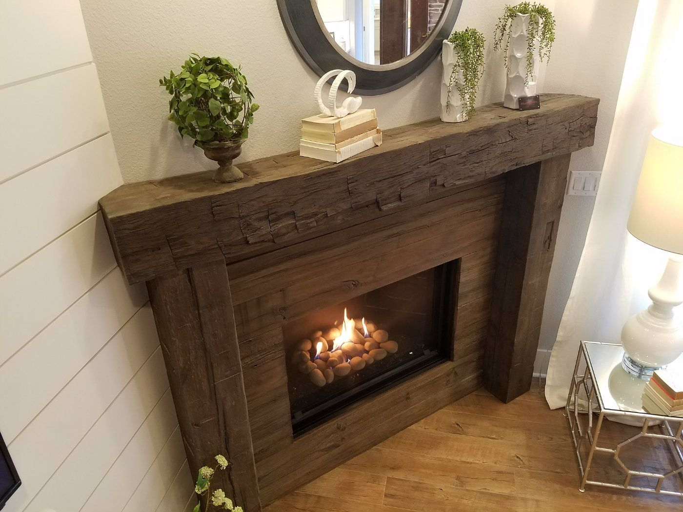 Magrahearth Non Combustible Fireplace Mantels Wood Stone