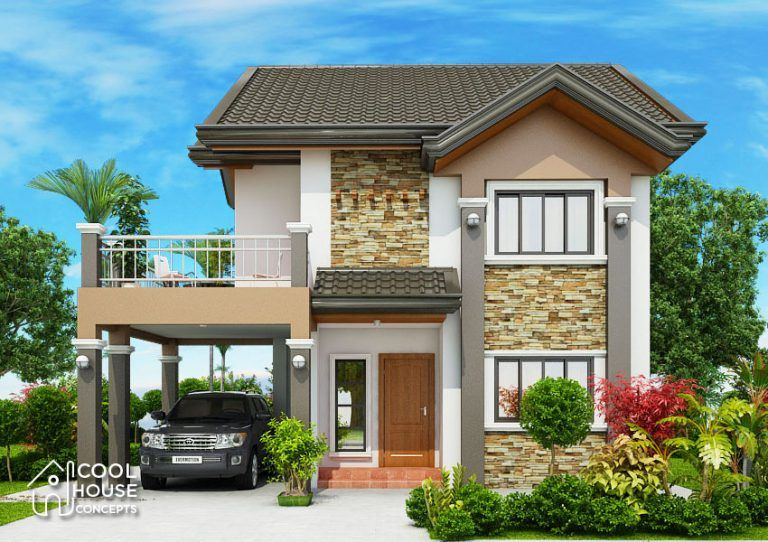This Single Storey House Design Is Budget Friendly Yet Cozy And Chic Cool House Concepts In 2020 House Design Photos Bungalow House Design Two Storey House