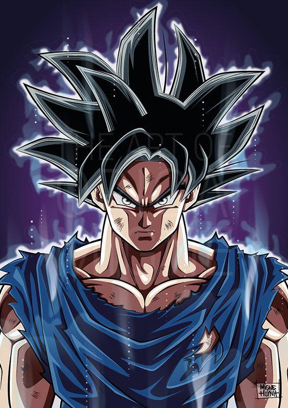 Goku Ultra Instinct | Dessin goku, Coloriage dragon ball et Fond d'écran dragon