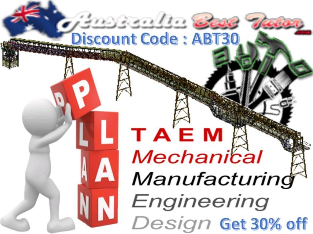 Australia Best Tutor Assists Engineering Students With Mechanical