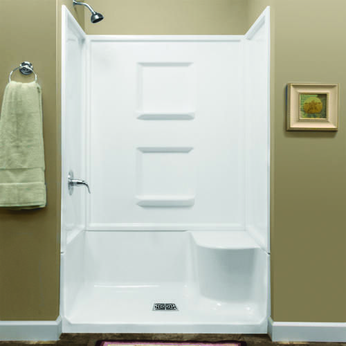 Lyons Linear 48 Right Hand Seated Shower At Menards Shower