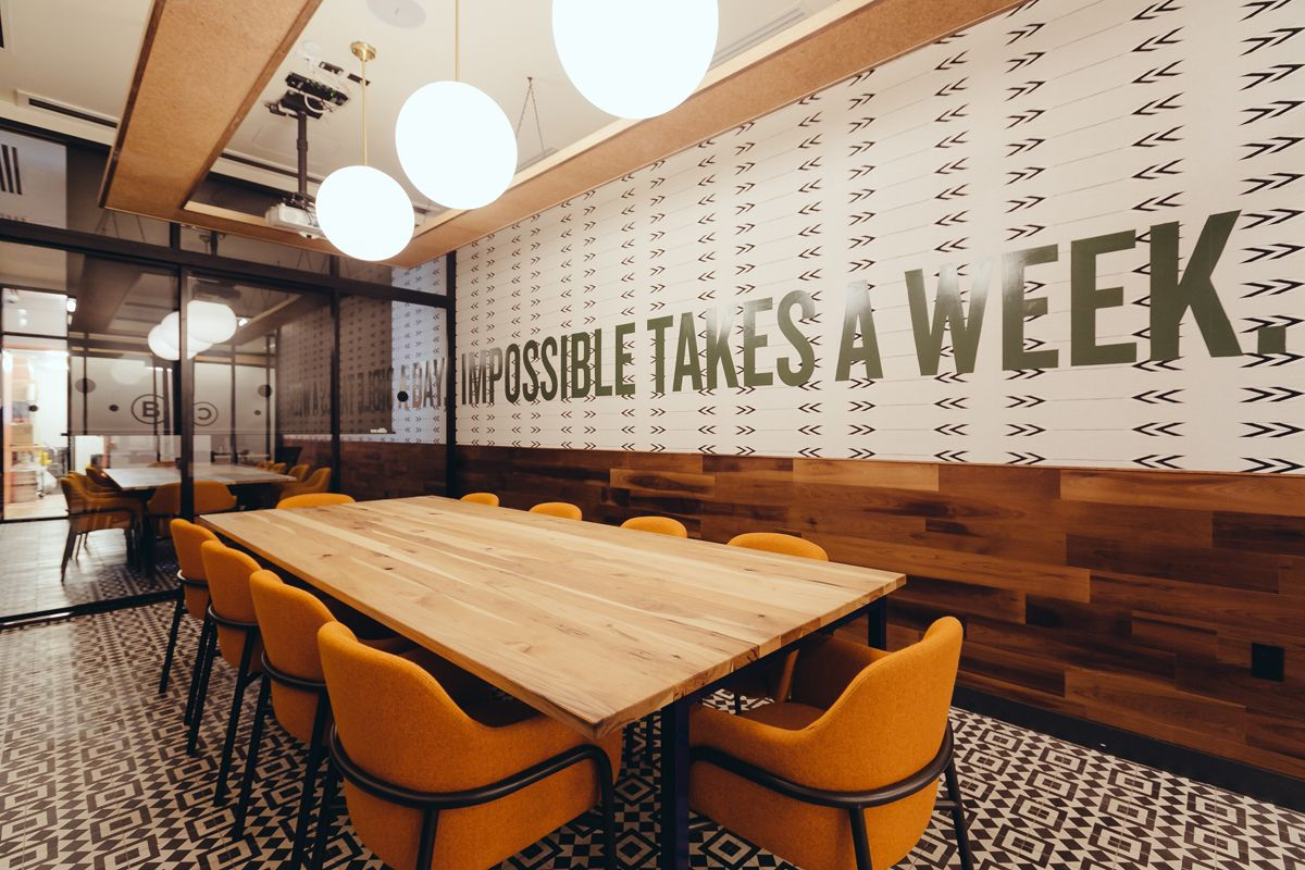 elegant office conference room design wooden. Gallery Of How WeWork Experiments On Itself To Advance The Field Office Design - 6. MeetingMeeting RoomsConference Elegant Conference Room Wooden