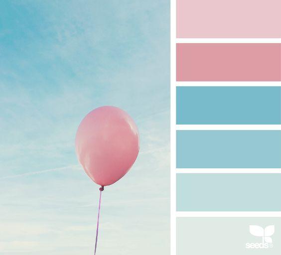 Farbpaletten Blau: Farben, Farbkombinationen Und Farbtrends
