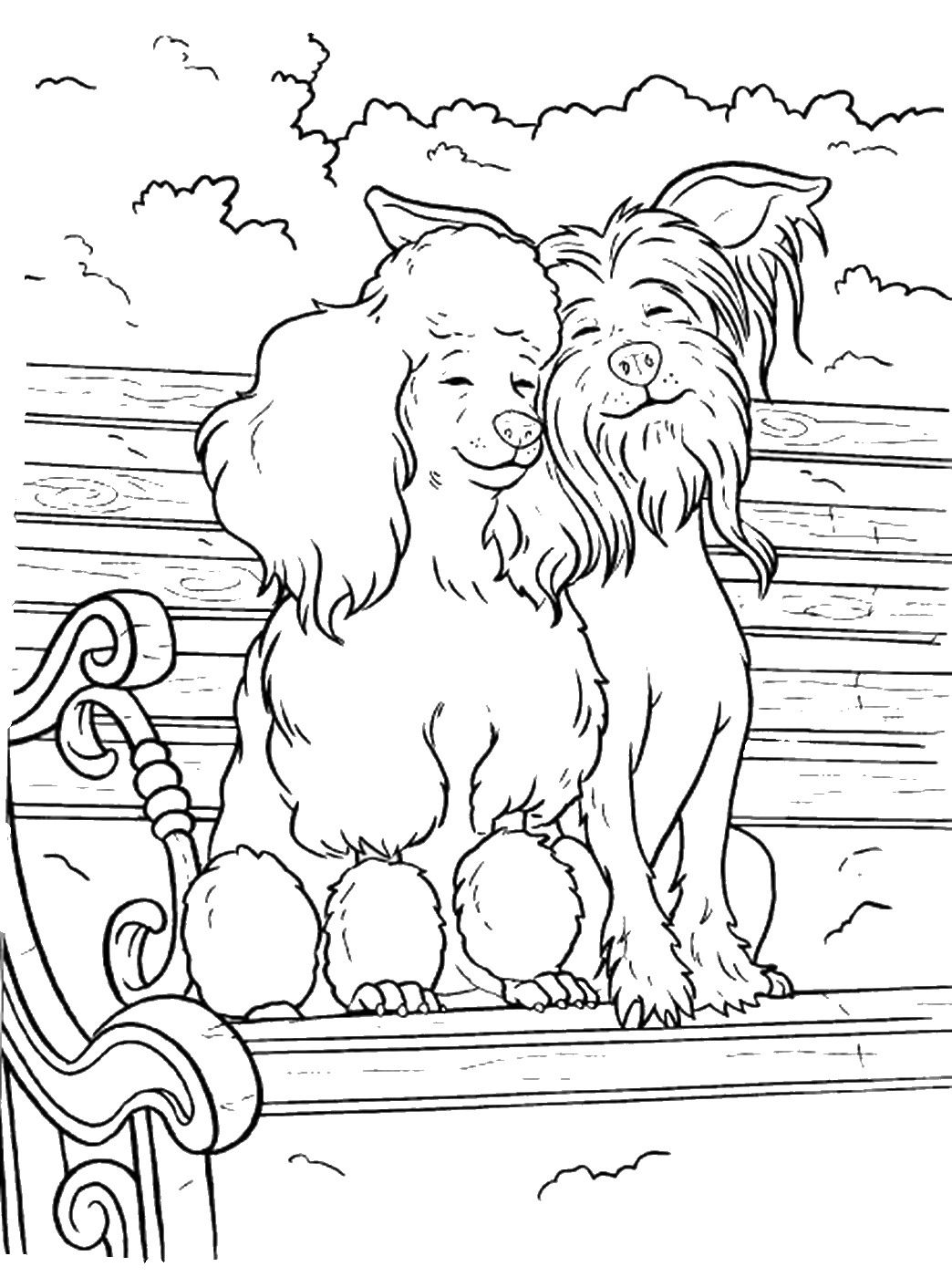 Pin von Kristi Magers auf Coloring Pages (Dogs, Wolves, Foxes ...