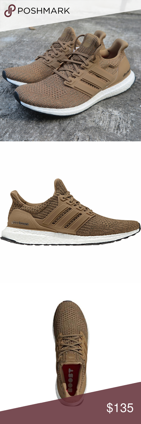 low priced a8620 071cf Adidas UltraBoost Running Shoes Ultra Boost CM8118 Raw ...
