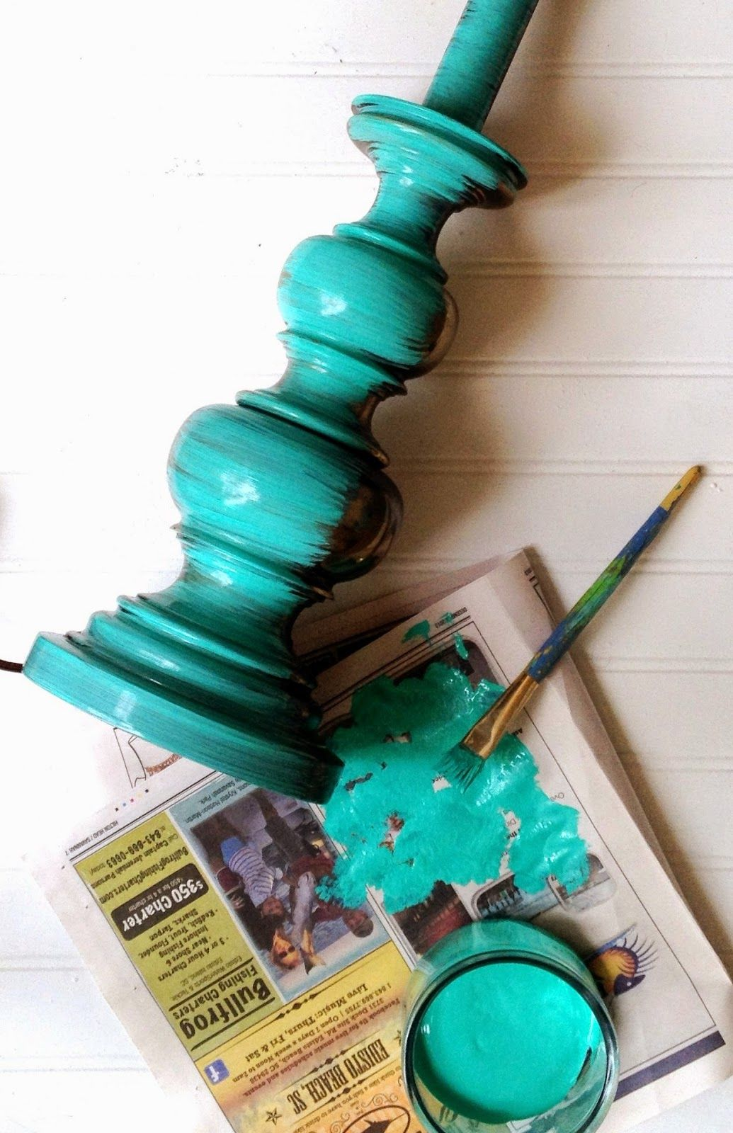 DIY How to paint metal Décor, home décor, turquoise, distressed, aquamarine, teal, beach house, island, tropical, project, coastal, home, lamp, painted lamp, vintage, summer style, design,