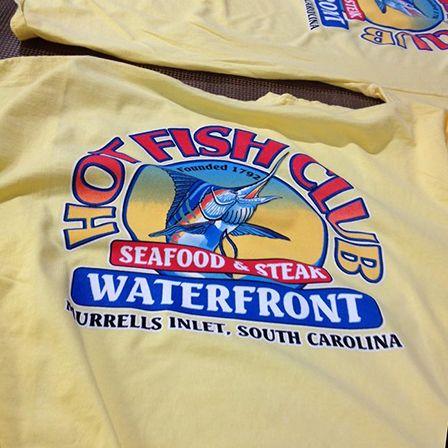 Hot fish club murrells inlet sc shirts printed by for Hot fish club murrells inlet