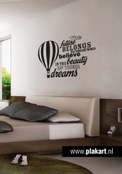 Ontwerp muursticker   muurtekst Future... slaapkamer   Home   Pinterest