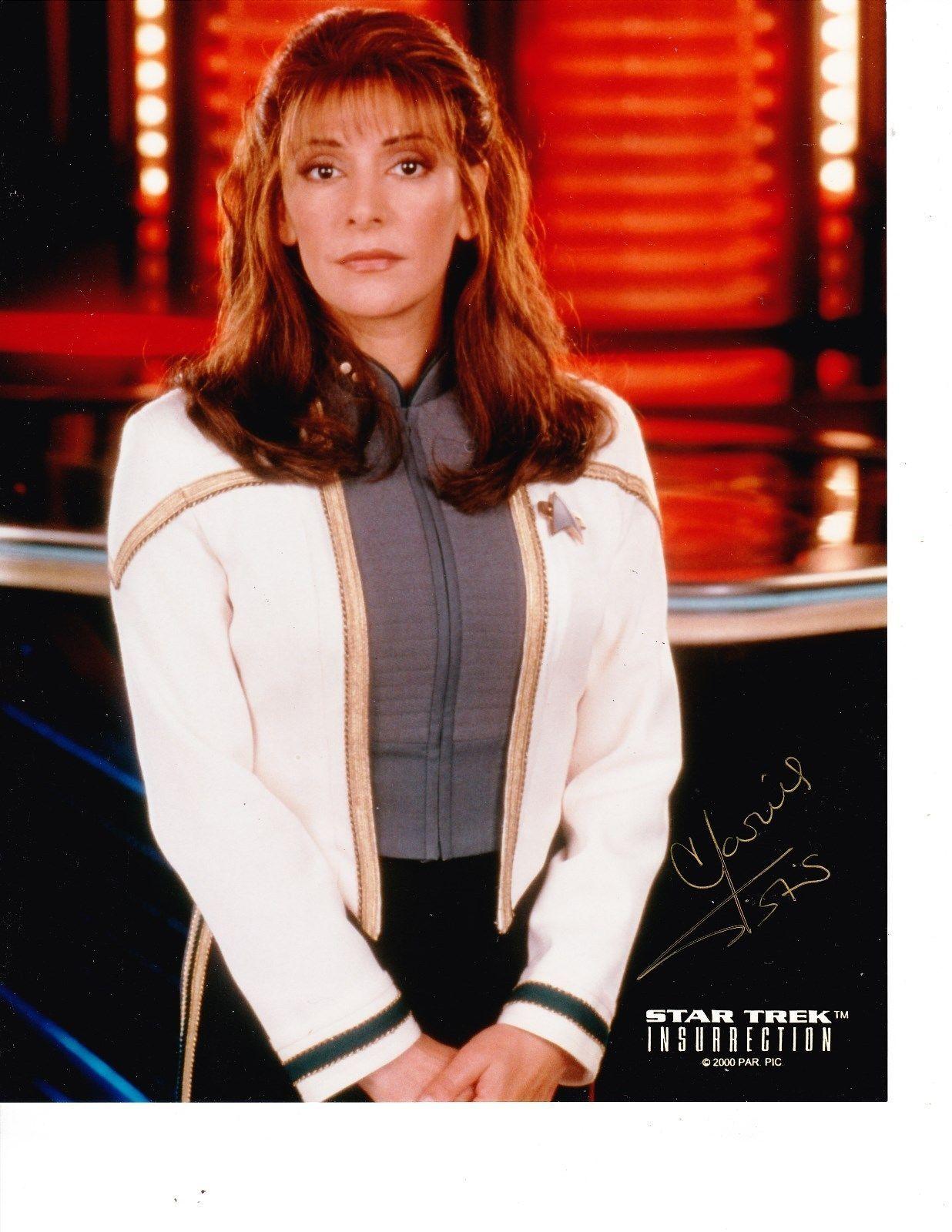Marina Sirtis Star Trek Insurrection 8x10 Autographed
