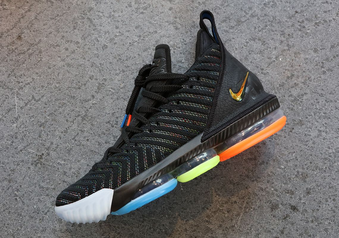 promo code 0fcf7 f859a LeBron James Reveals His Favorite Nike LeBron 16 | Footwear ...