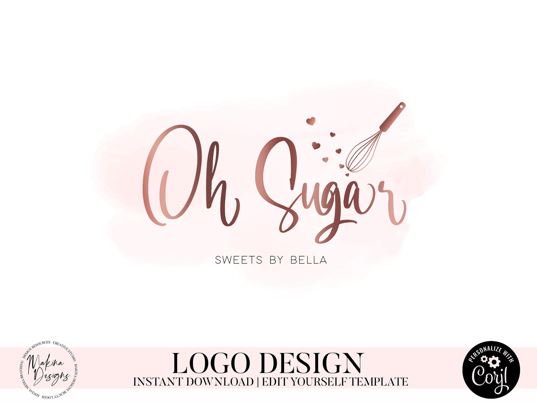 cake baking logo design BAKING LOGO DESIGN, Cake logo, Logo design, Logo, Premade logo