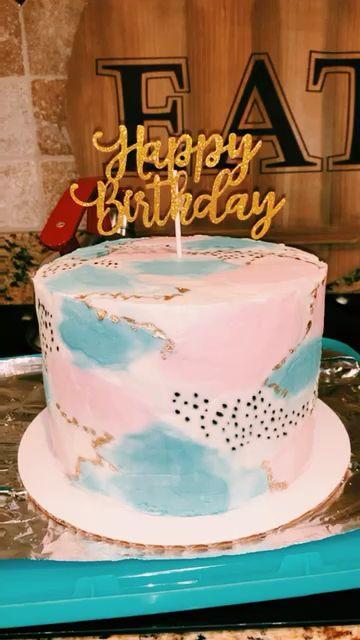 vsco birthday cake #17thbirthday
