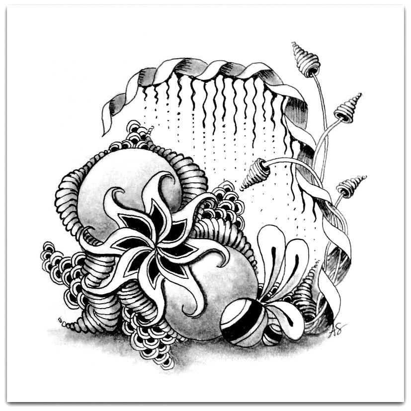 Zentangle by Alicia Schlitz