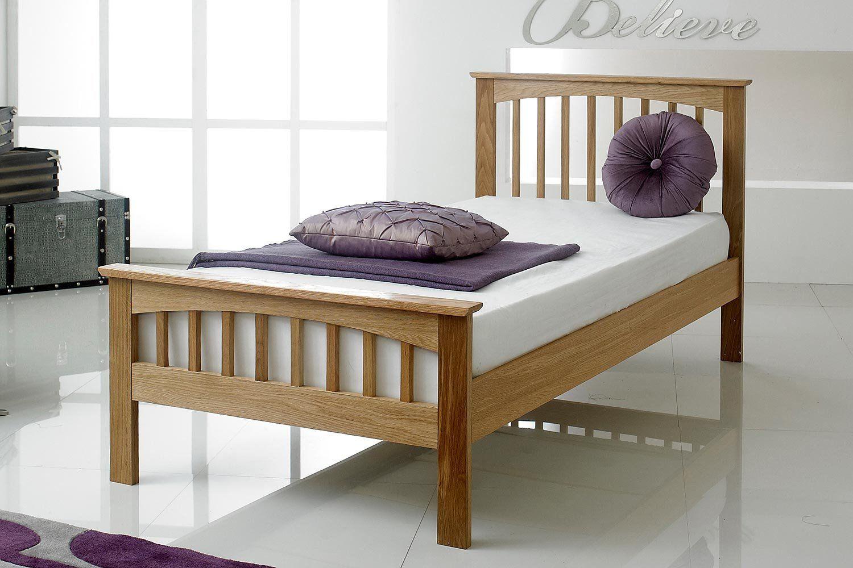 Heywood Solid Oak Bed Frame 3ft – Single