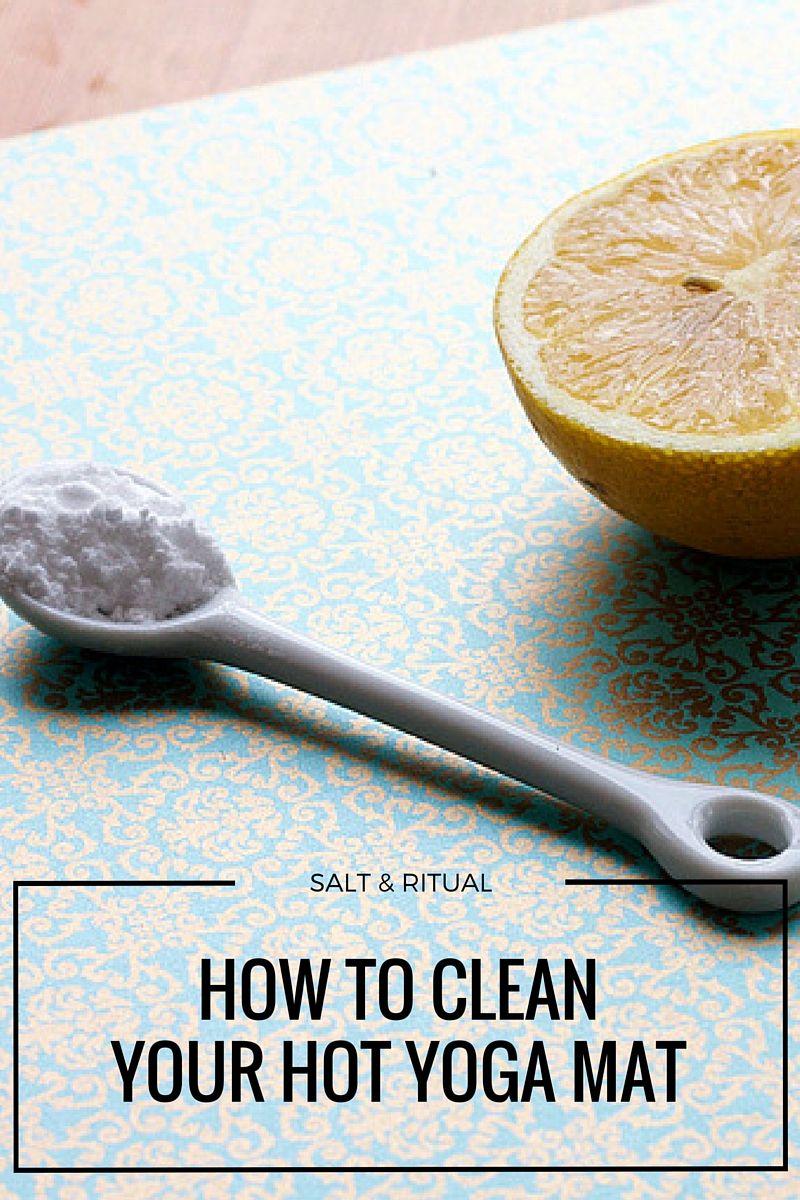 How to clean your lululemon hot yoga mat hot yoga yoga
