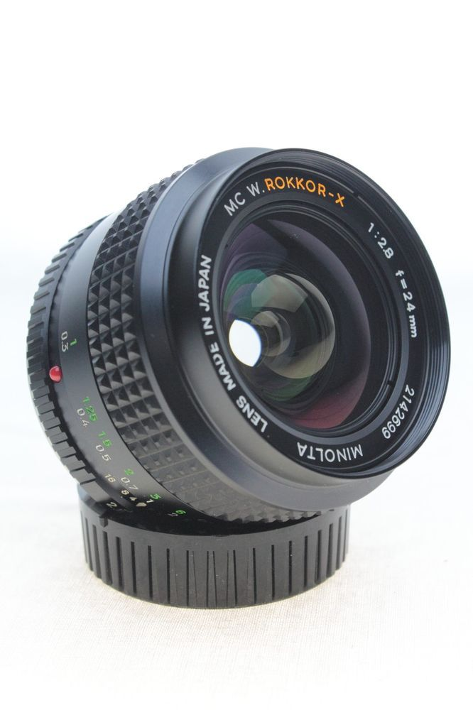 rare minolta 24mm 1 2 8 mc w rokkor x manual focus lens 2142699 rh pinterest com Nikon User Manual Manual Photography Cheat Sheet