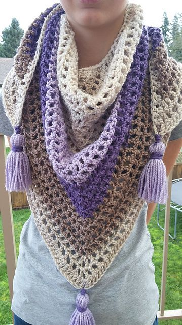 Ravelry: papertapepins\' Lilac Frosting Boyfriend Scarf | mis cositas ...