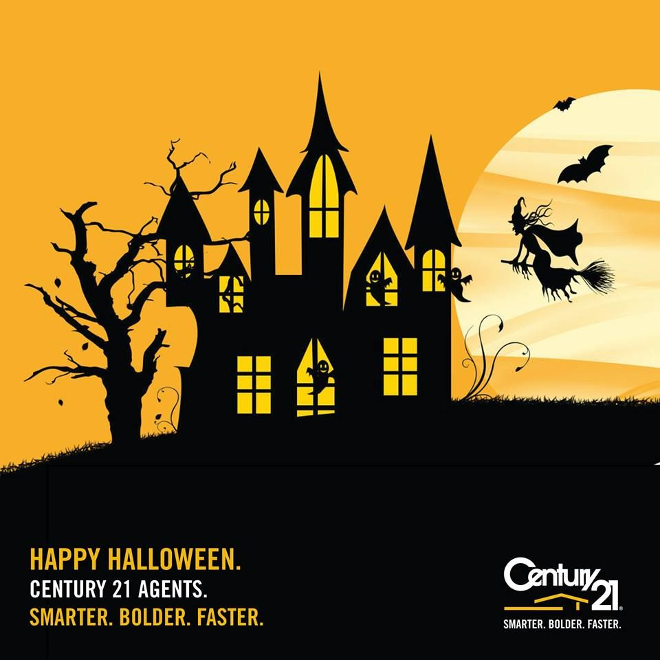 Happy Halloween From Century 21 Australasia Real Estate Marketing Real Estate Selling Real Estate