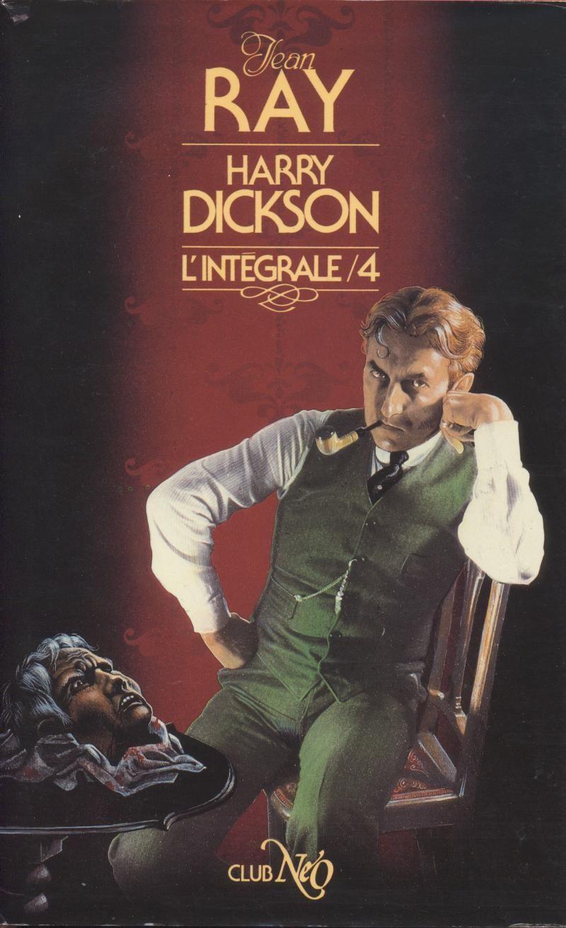 Jean Ray Harry Dickson L Integrale 04 Ed Neo 1985 Cover Art By Nicollet Jean Michel Jean Ray Dickson