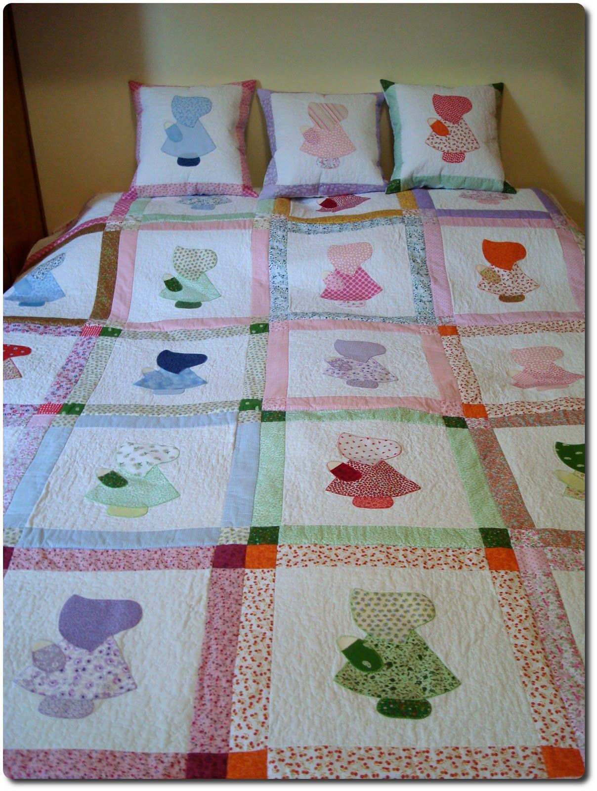 Pin de gloria mu oz en tendidos de cama colchas colchas - Patrones para colchas de patchwork ...
