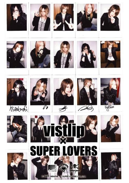 SUPER LOVERS/ vistlip Collaboration