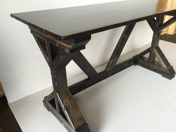 16+ Ana white rustic x desk ideas