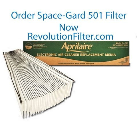 Aprilaire Space Gard 501 Space Cleaning Cabinets Filters