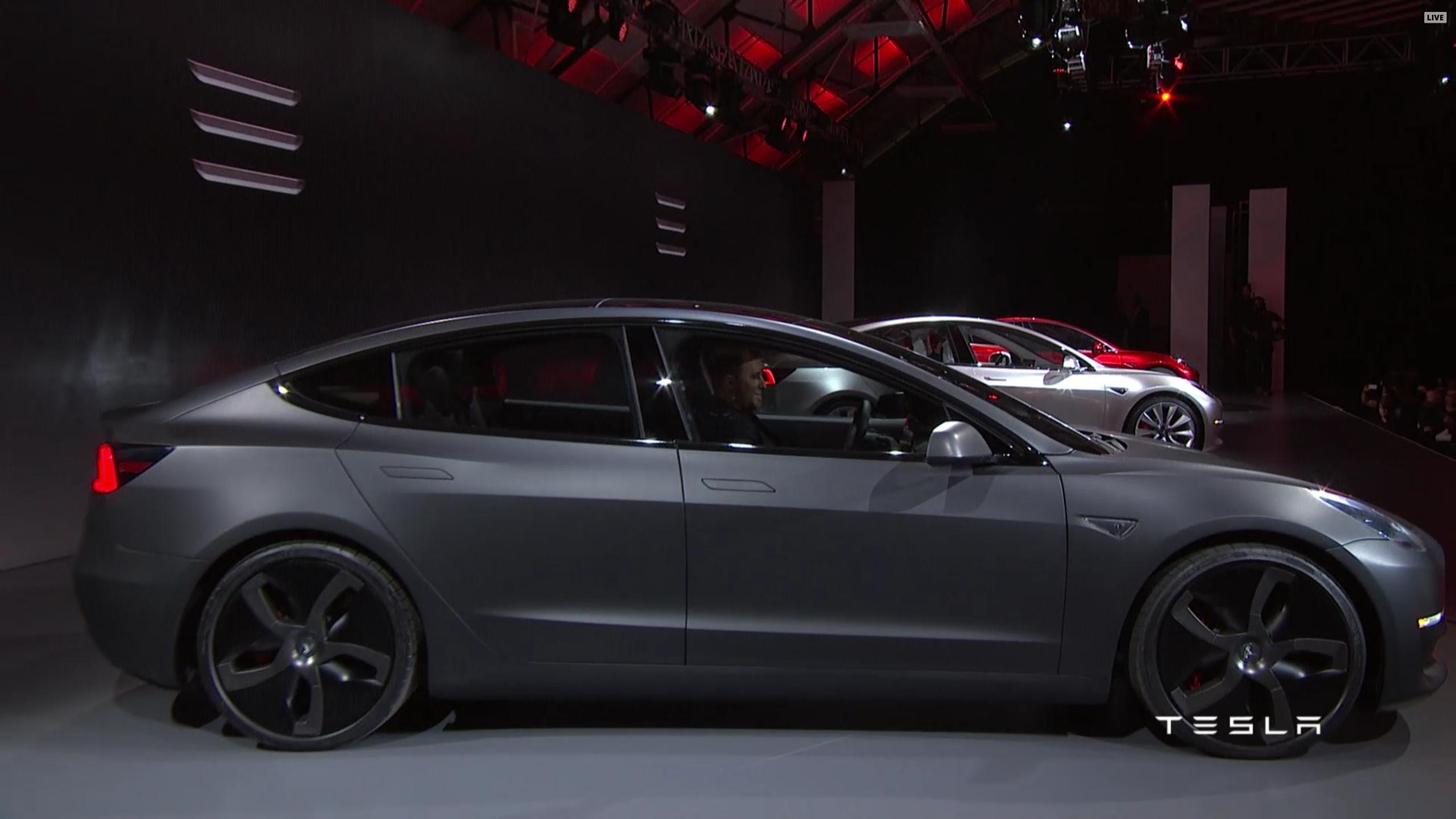 Tesla Model 3 Matte Black Tesla Model Tesla Model