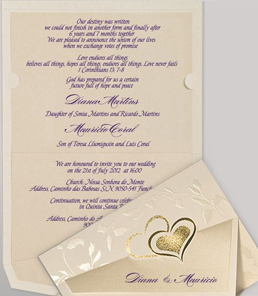 wedding invitation wording sample wording of enigma christian - Christian Wedding Invitation Wording