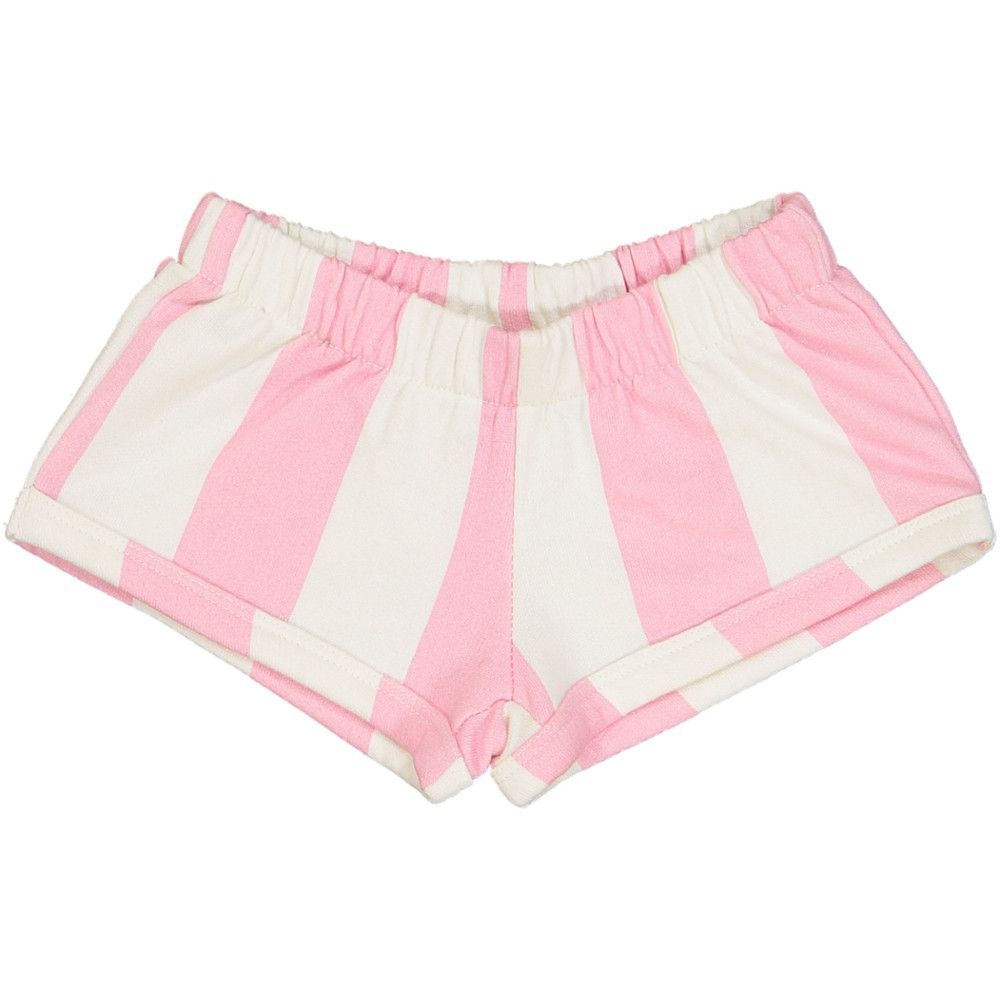 288d7f9ee6 Hugo Loves Tiki Pink Stripe Shorts | Products | Striped shorts, Pink ...