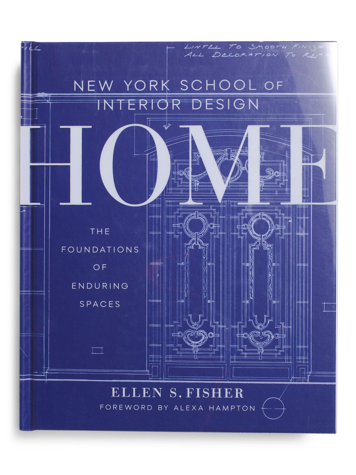 New York School Of Interior Design Home Coffee Table Book Home
