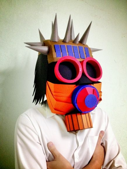 by Ray (Thailand)    Get inspired gas mask.Style mask is underground.