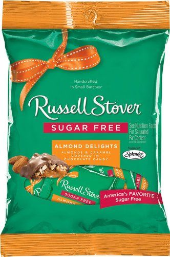 Robot Check Sugar Free Peanut Brittle Russell Stover