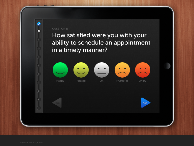 In app patient surveys?? What are they trying to do to