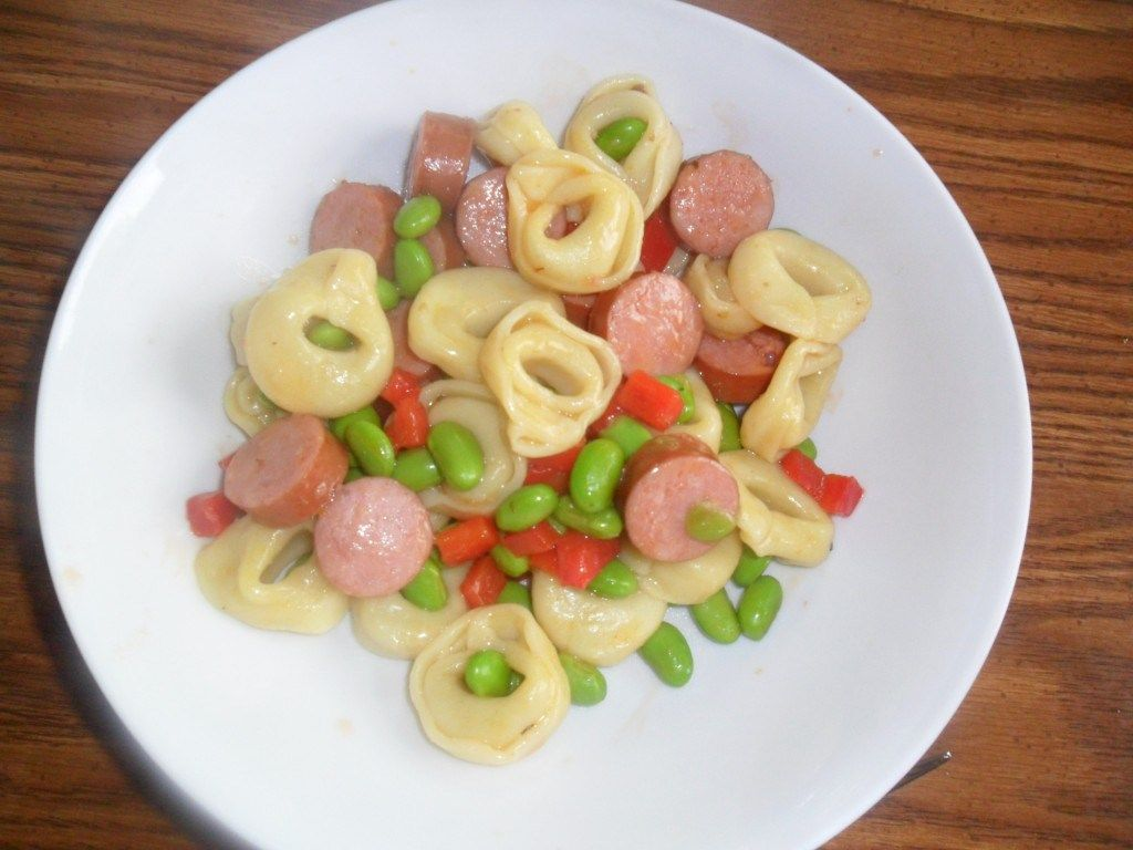 Pasta. Your kids love it. You love how easy it is to prepare, and the combinations you can create are endless. In this mix, smoked sausage takes center stage while the delicious and healthy edamame sneak in there too. It's…