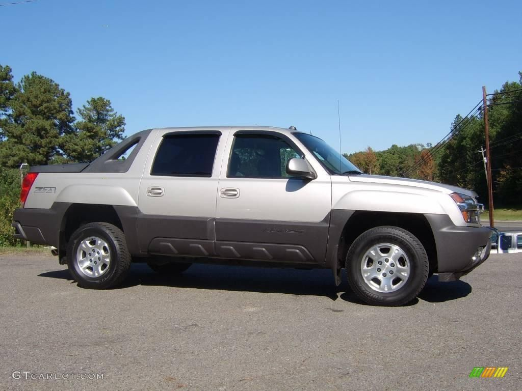 Avalanche chevy avalanche 2004 : 2004 Avalanche 1500 Z71 4x4 - Silver Birch Metallic / Dark ...